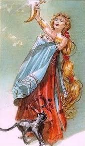 Фрейя – воительница