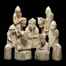 Викинги: рисунки и скульптуры