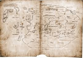 Виланд на таинственной карте