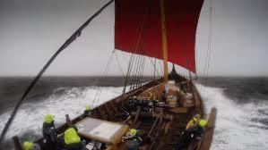 Драккар викингов повторяет путешествие из мифов